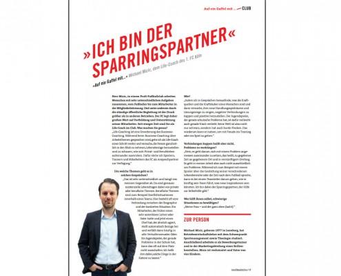 Interview im Geißbockecho